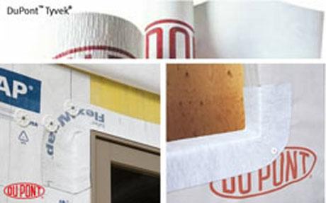 DuPont Tyvek Flex Wrap Installation