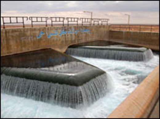 The vastness of the scale of the Libyan water diversion project is the type of system envisaged for Pakistan for monsoon control and diversion to needy regions.