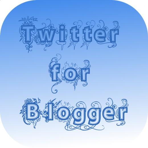 Twitter for blogger