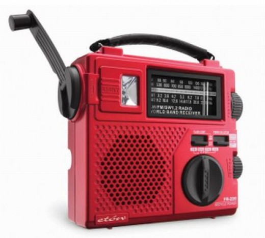There are many different wind-up radios available