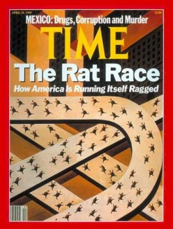 "Discovering Why the Expression ""Rat Race"" Continues to Exist"