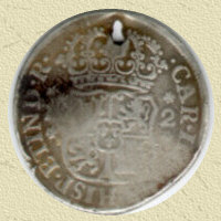1779 Spanish 2 Reale I have found several of these