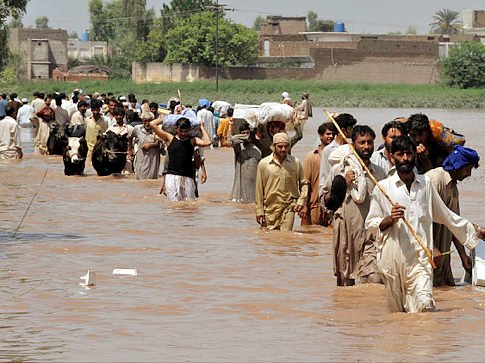 Pakistan has experienced a devastating flood that has wiped out everything, homes, livelihoods, crops and grains seed for 2011. It is the worst flood in recorded history displacing 16 million people.