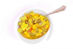 Homemade Spicy Piccalilli/Chow Chow Recipe - Spiced Mustard Pickles