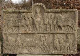 Freiberg am Neckar, relief plate devoted to the celtic goddess Epona, found 1583 in the ruins of a roman Villa Rustica