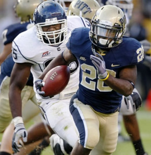 2010 Pittsburgh Panthers - (at Utah, vs Miami,Fl, at Notre Dame, at South Florida, vs West Virginia, at Cincinnati)