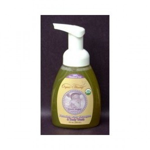 Organic Baby Shampoo and Body Wash by Organic Blessings (photo is credited to amazon.com)