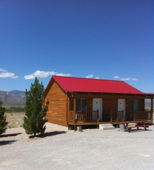 One of the cabins at Windmill Ridge. The staff was kind enough to let us rest here for a few hours.