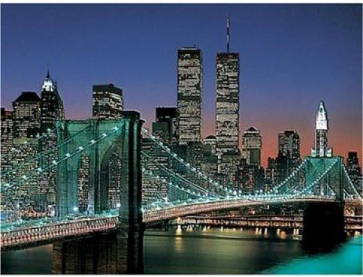Ravensburger NYC - Brooklyn Bridge - 2000 Piece Jigsaw Puzzle