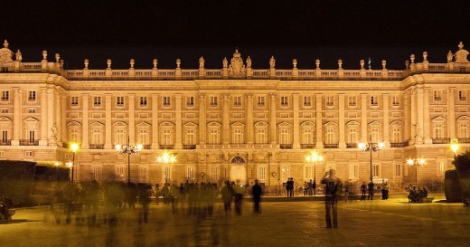 Royal Palace of Madrid - photo credit wikipedia
