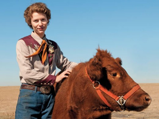 Claire Danes as Temple Grandin-an autistic scientist & activist