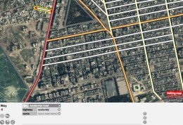 Open street map tracing