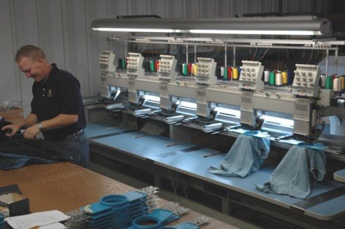 Is it in the cards for your business to add embroidery as a profit center?