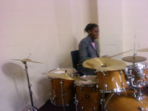 Another Drumming Lesson after work...