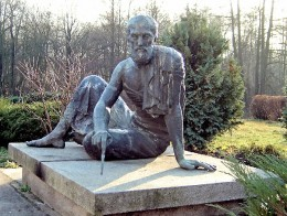 Statue of Archimedes.