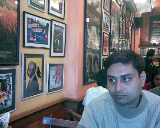 Inside Big Chill Restaurant Delhi