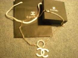 Chanel Necklace CC Pendant