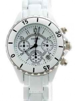 Chanel J12 Watch White Ceramic