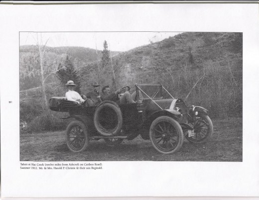 Summer of 1911 - Taken at Hat Creek (twelve miles from Ashcroft on Cariboo Road