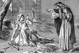 Elijah meets the widow