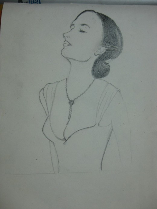 Eva Green's Drawing in Progress:3