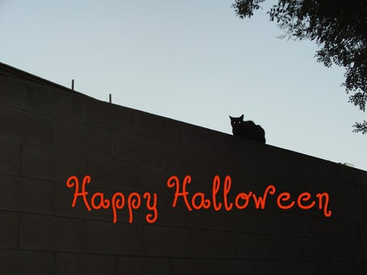 This is the Halloween cat e-card I designed the other day, and he was the inspiration for my Halloween pop-up card.