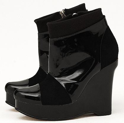 Tristan Blair Leiza Wedge Boots, 270.00