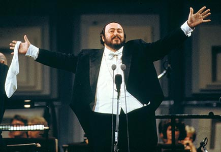 The late Luciano Pavarotti - The tenor of tenors!