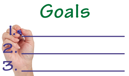 It is important to clearly outline goals