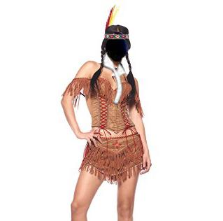 Pocahontas Inglish - Image by RedElf, photo from maskworld.com