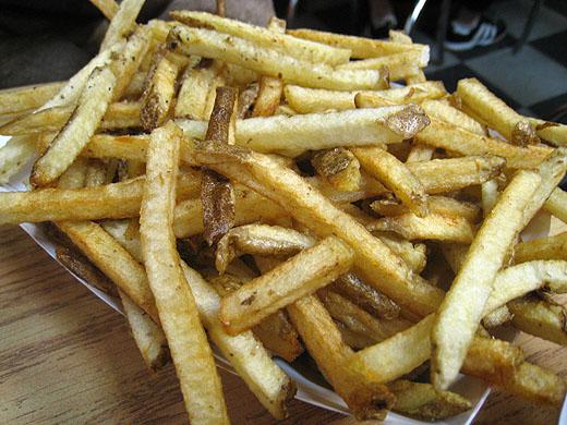 Famous Duck Fat Fries
