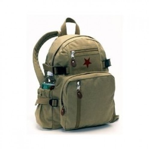 Rothco Khaki Vintage Mini Backpack 9162