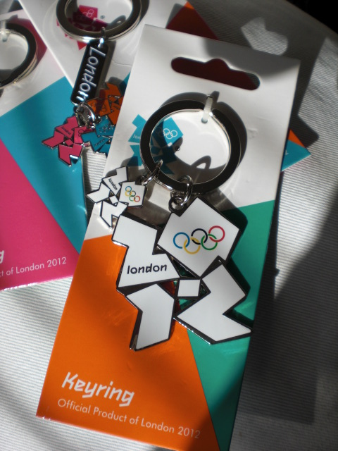 2012 Olympic key rings.