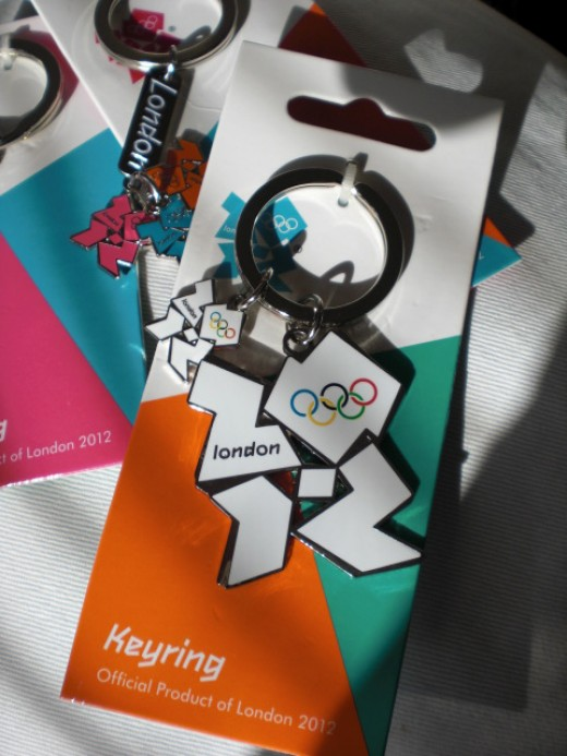 2012 Olympic key rings.