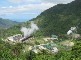 A Geothermal plant.