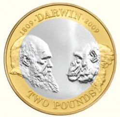 Darwin Two Pound Coin
