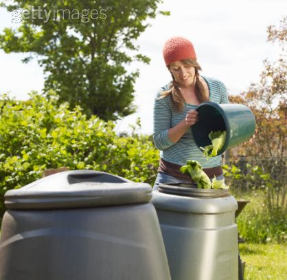 Waste: Organic kicthen waste is a key ingredient in compost heaps