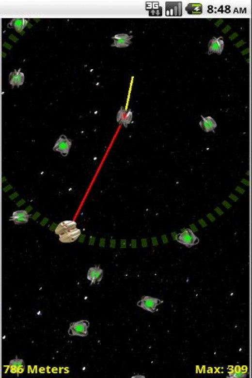 Gravity Tow, screenshot courtesy of AppBrain.com