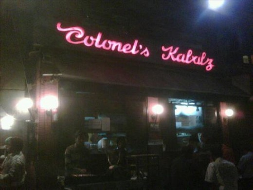 Colonel's Kababz, Defence Colony