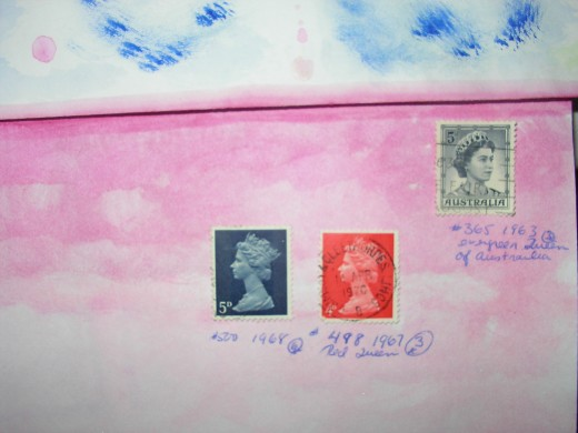 Royal British Stamps
