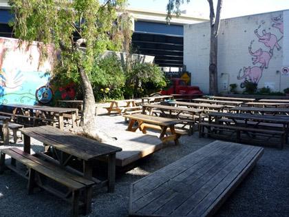 Zeitgeist beer garden