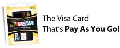 Nascar Greendot Visa Prepaid Debit Card