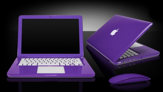 Colorware's awesome $500 Purple Macbook Conversion look great, but what can you do if you don't have $500 to spend but want to personalise your Macbook in Purple?