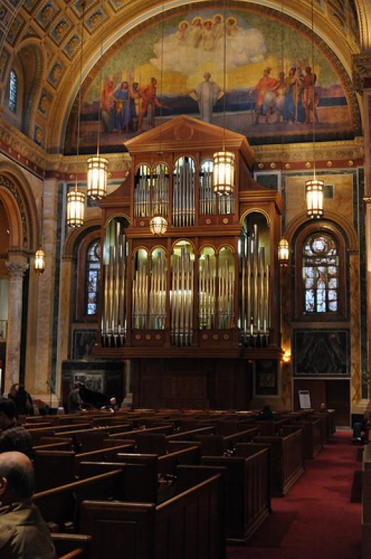 The Organ at St. Matthew's Cathedral, Washington DC