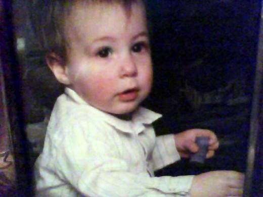 Baby Dana age 1