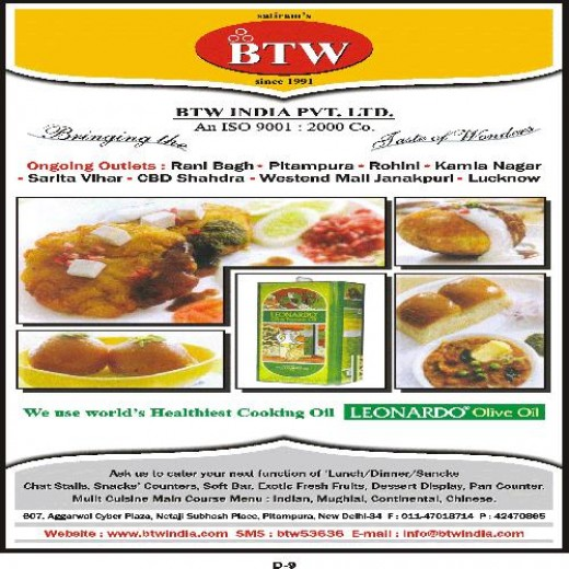 Bittoo Tikki Wala is located in Kamla Nagar, Rani Bagh, Shahdra, Janakpuri, Lucknow, Sarita vihar, Pitampura in Delhi