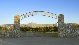 The main gate at Concannon