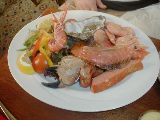 Scottish Seafood Platter