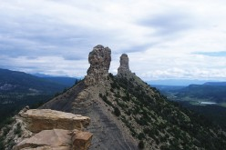 Our National Parks: The Anasazi of Chimney Rock (Poem)