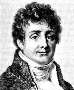 Portrait of Fourier.